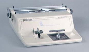 Possum Typewriter